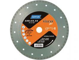 Алмазный круг 180х22.2 мм бетон/трот.плитка Turbo VULCAN JET NORTON (70184625187)