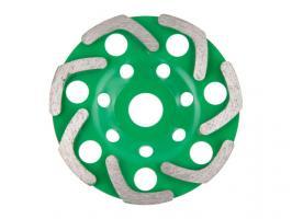 Алмазная чашка 125мм бетон однорядная ВОЛАТ (бумеранг) (89095-125)