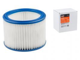 Фильтр для пылесоса BOSCH GAS 15-20, MAKITA 446, VC 2012-3012 синтетический улучш. фильтрации GEPARD (MAKITA 446, VC 2012, VC 2512, VC 3011, VC 3012) (GP9110-12)