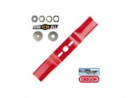 Нож для газонокосилки 53 см изогн. универсальный OREGON (69-256-0)