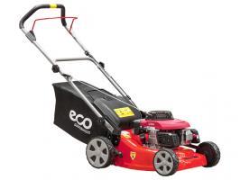 Газонокосилка бензиновая ECO LG-432 (3.0 л.с., шир. 43 см, ручной привод, стальн. корпус, травосборник 50 л) (LG-432)