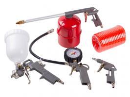 Набор пневмоинструмента DGM DA-S500 (5 предметов,верх. бак) (DA-S500)