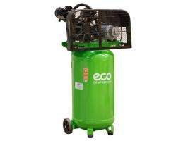 Компрессор ECO AE-1005-B2 (380 л/мин, 8 атм, ременной, масляный, вертикальный ресив. 100 л, 220 В, 2.20 кВт) (AE-1005-B2)