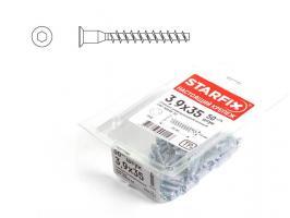 Конфирмат 7.0х70 мм с внутр. шестигр. (30 шт в пласт. конт.) STARFIX (SMP1-09526-30)