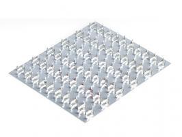 Пластина гвоздевая 129x152 мм GP STARFIX (SMP-93539-1)