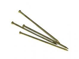 Гвозди финишные 1.2х25 мм латунь (0.2 кг в пласт. конт.) STARFIX (SMP1-99646-02)