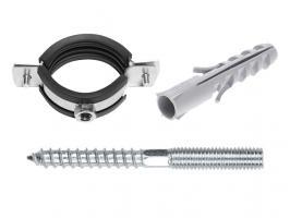 """Набор для крепления сантехнических труб(КТР) 1/2"""" (20-25 мм) STARFIX (SMK2-55567-1)"""