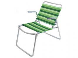 Кресло-шезлонг складное, NIKA (ПРОЕКТ МТ01.01.000) (Цвета в ассортименте)