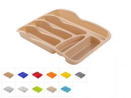 Лоток для столовых приборов 37х28 см, DRINA (цвета в ассортименте)
