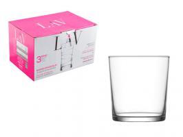 Набор стаканов, 3 шт., 345 мл, серия Bodega, LAV