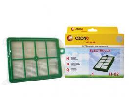 HEPA-фильтр для пылесоса одноразовый OZONE H-02 (1 шт.) (ELECTROLUX, PHILIPS, AEG, BORK)