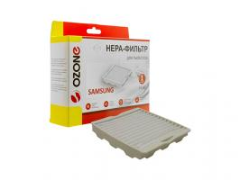 HEPA-фильтр для пылесоса одноразовый OZONE H-40 (1 шт.) (Для пылесоса Samsung серии SC41:, SC52:, SC56:)