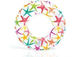 Надувной круг для плавания Lively Print, 3-6 лет, 51 см, INTEX