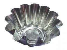 Форма для выпечки ромовой бабы (диам.дна 60мм,  диам.верха 120мм), ЖЕСТЕУПАКОВКА