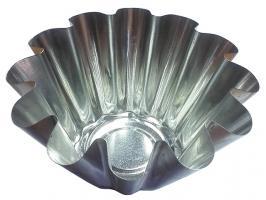 Форма для выпечки ромовой бабы (диам.дна 60мм,  диам.верха 130мм), ЖЕСТЕУПАКОВКА