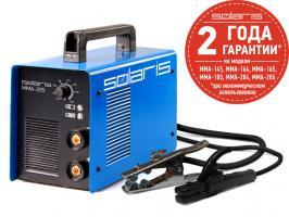 Инвертор сварочный SOLARIS MMA-205 (230В, 10-200 А, 85В, электроды диам. 1.6-4.0 мм, вес 5.1 кг)