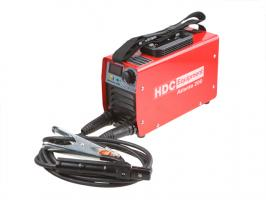 Инвертор сварочный HDC Atlanta 200 (140-240В, 10-200 А, 87В, электроды диам. 1.6-5.0 мм, вес 6.1 кг)