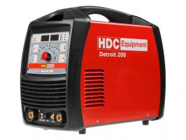Инверторный аппарат аргонодуговой сварки HDC Detroit 200 (TIG AC/DC - MMA) (AC/DC, Pulse, HF / Lift TIG, MMA, 200 A, 230 В)