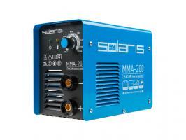 Инвертор сварочный SOLARIS MMA-200 (230В, 20-200 А, 70В, электроды диам. 1.6-4.0 мм, вес 3.4 кг)