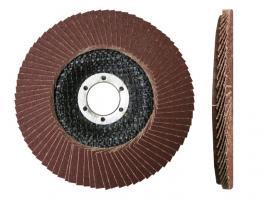 Круг лепестковый 180х22мм А180 плоск. КЛТ1 (Луга) (LUGAABRASIV) ()