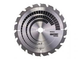Диск пильный 300х30 мм 20 зуб. по дереву CONSTRUCT WOOD BOSCH (переменный зуб) (2608640700)
